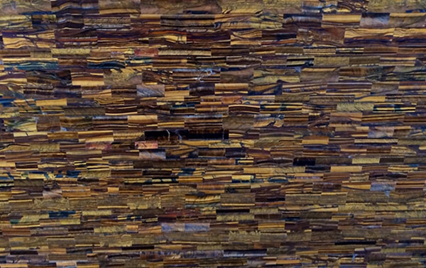 tiger-eye-slab-brick-pattern